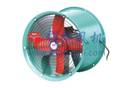 南京T35-11型高效低噪声轴流通风机